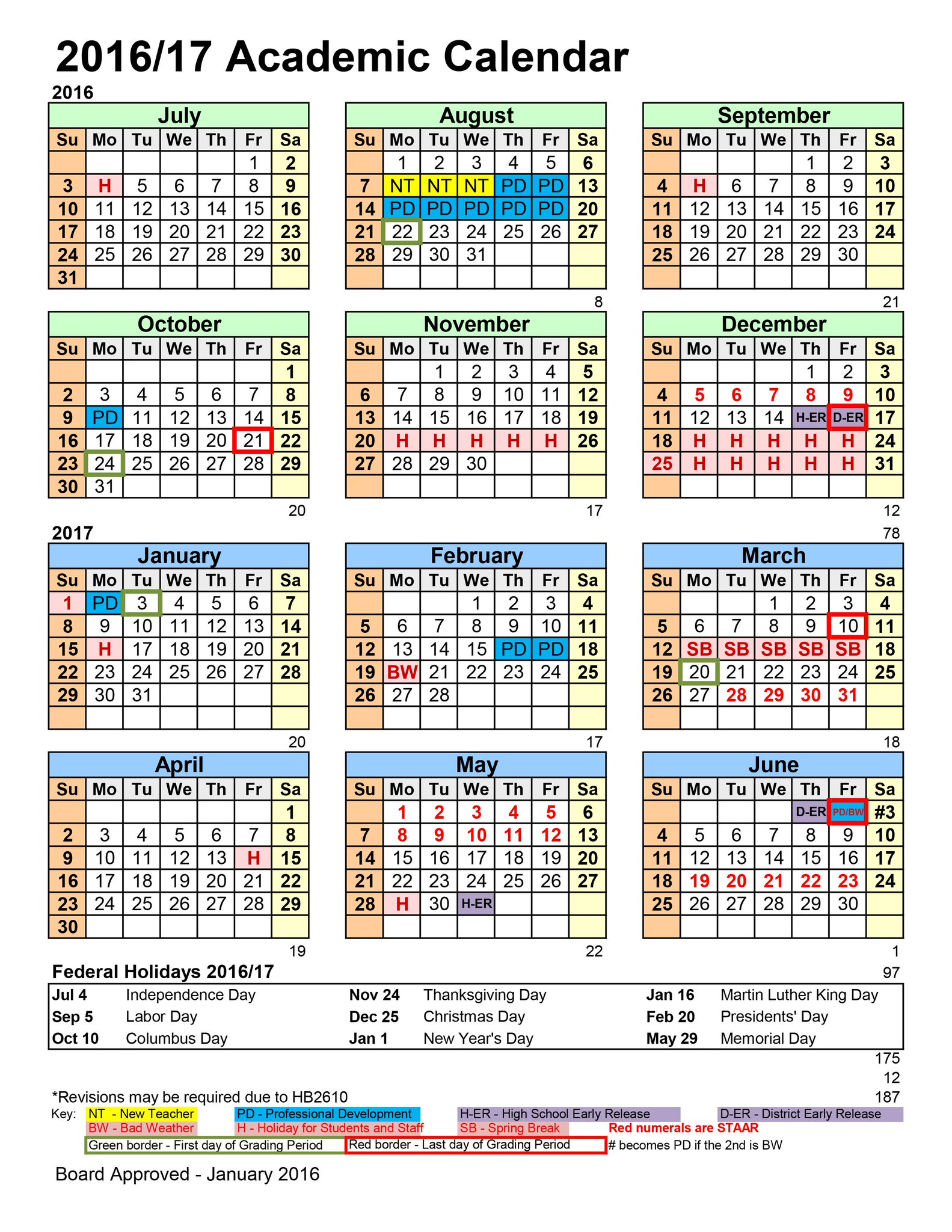Year Calendar Look : Lake travis isd on twitter quot the  calendar is now