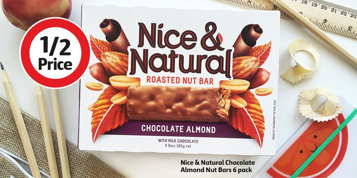 Image result for nice and natural bars