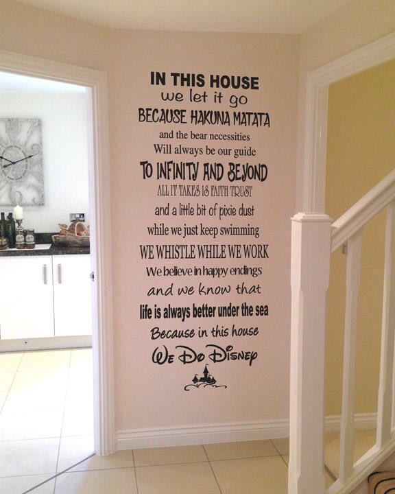 Quot In This House We Do Disney Quot Disney