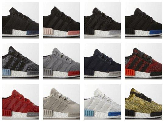 on sale 90f84 080ab adidas nmd colorways