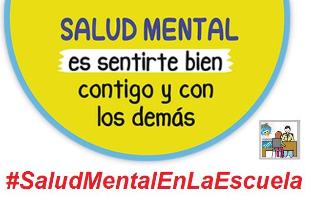 #SaludMentalEnLaEscuela, nuevo hashtag del Equipo de Tuitorientadoras y Tuitorientadores. Coordina: @MariaCamino https://t.co/m0VmS5R3Um