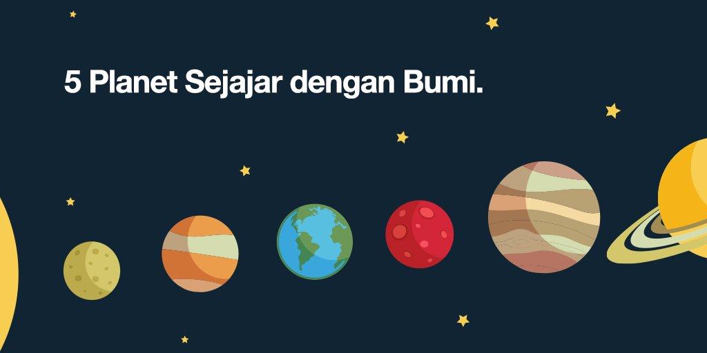 Fenomena Sejajarnya 5 Planet Ini Dengan Bumi - AnekaNews.net