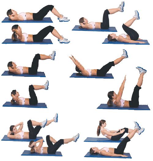 Какие Упражнения На Пресс На Похудения.