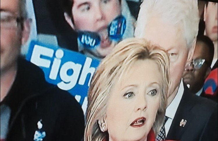 #StickerBoy – the face of the Hillary Clinton campaign