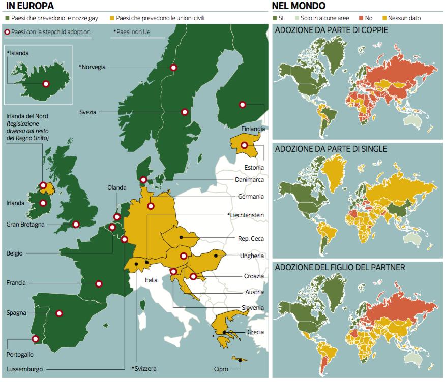 #DailyMap 2/02 #Unionichedividono Oggi al voto il decreto #Cirinna ma qual è la situazione in #Europa e nel mondo? https://t.co/ZaabTOsnNN