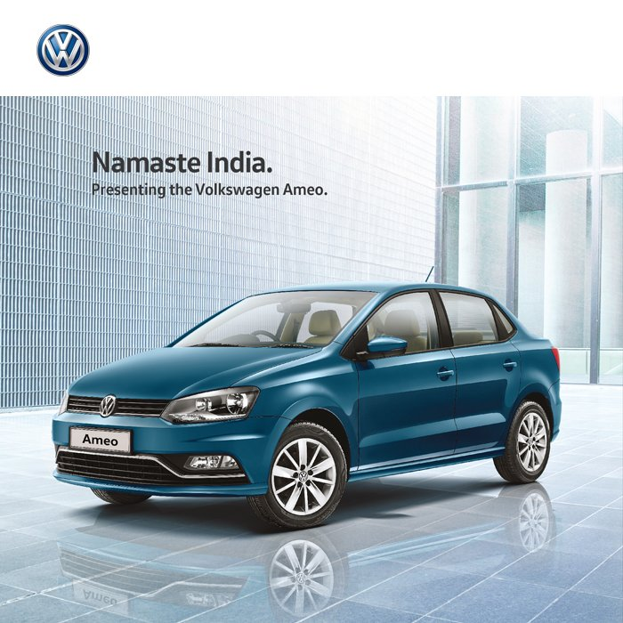 Meet the Volkswagen Ameo.  German Engineering. With an Indian Heart. #VolkswagenAmeo https://t.co/El5ATaAYwf