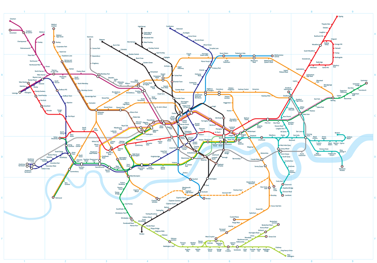 London Tube #map - A new angle on the London Underground https://t.co/vLDkELFoky https://t.co/7WSjg4dPV1