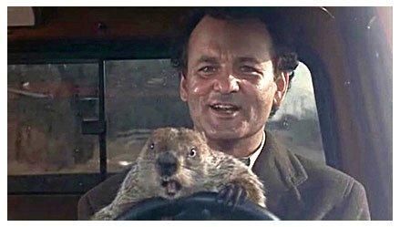Don't drive angry. #GroundhogDay https://t.co/fbJXLnjPIx