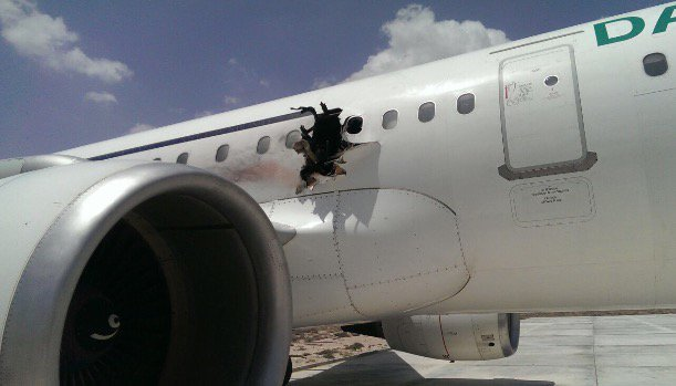 passenger sucked out of plane