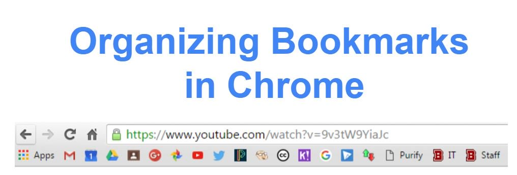 how to delete bookmarks