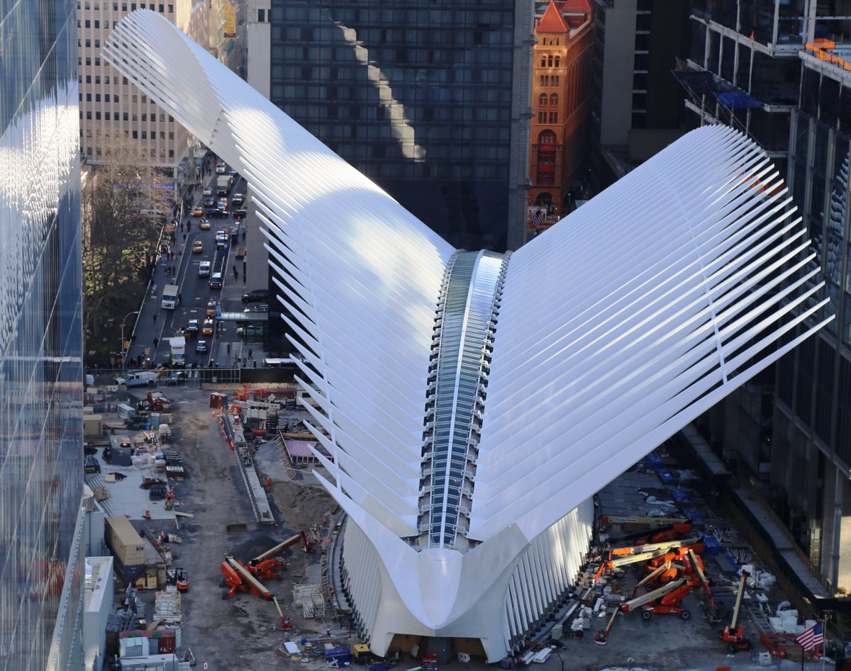 Thoughts On The Eve Of The Opening Of The Wtc Path Hub