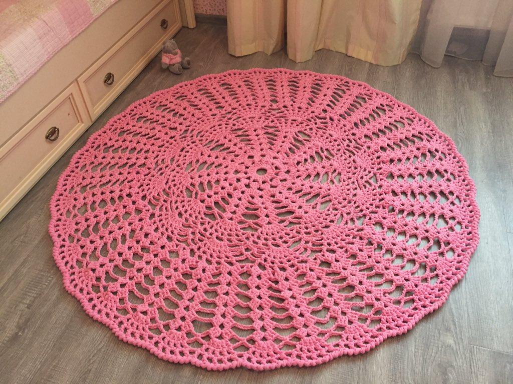 Картинки вязание крючком коврик, картинки про