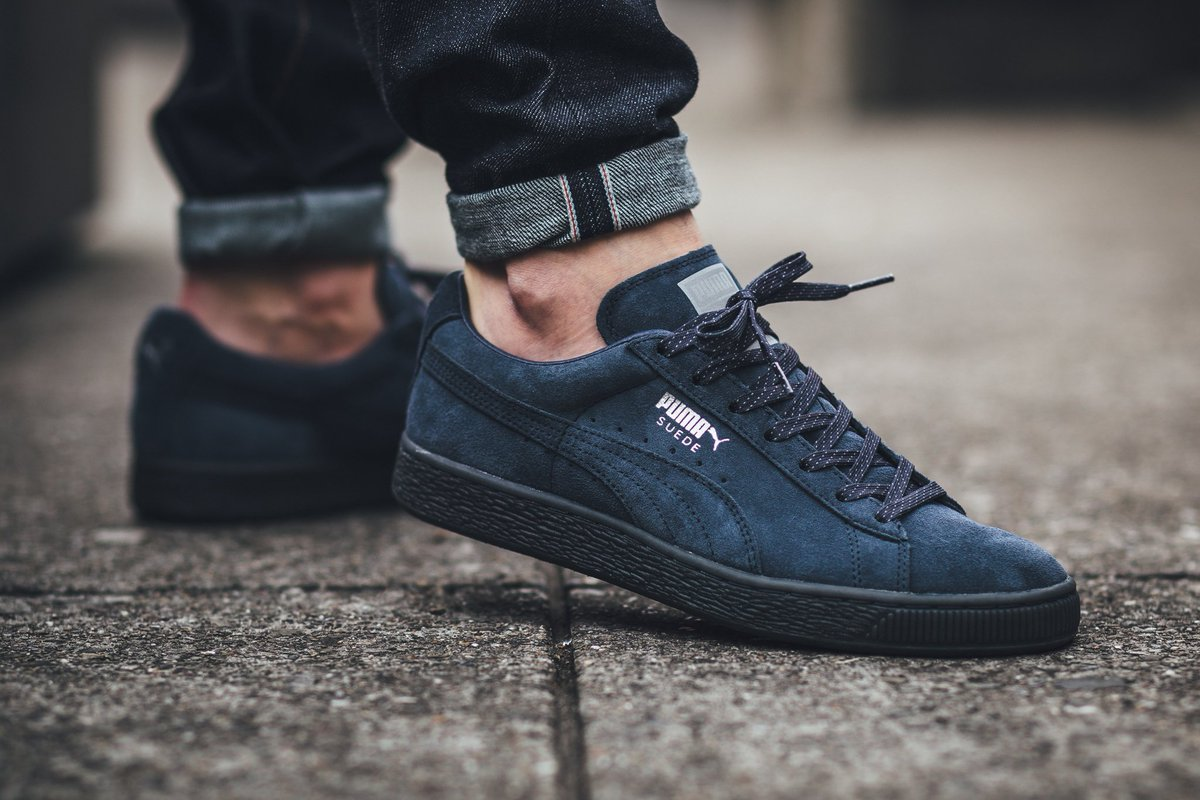 the latest cfcce cd80e Puma Suede Classic Mono Ref Iced wearpointwindfarm.co.uk