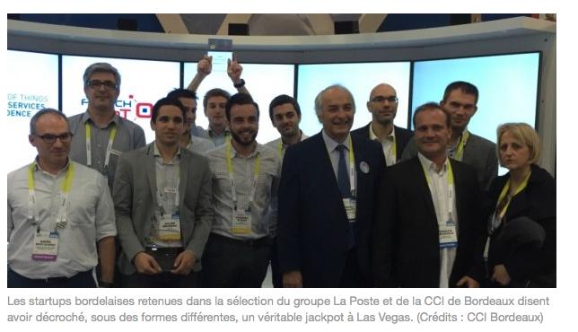 @CES : le jackpot pour les #startup de #Bordeaux? @iQSpot #IoT https://t.co/iVy7qULgJU Par @PRabiller @LaTribuneBdx