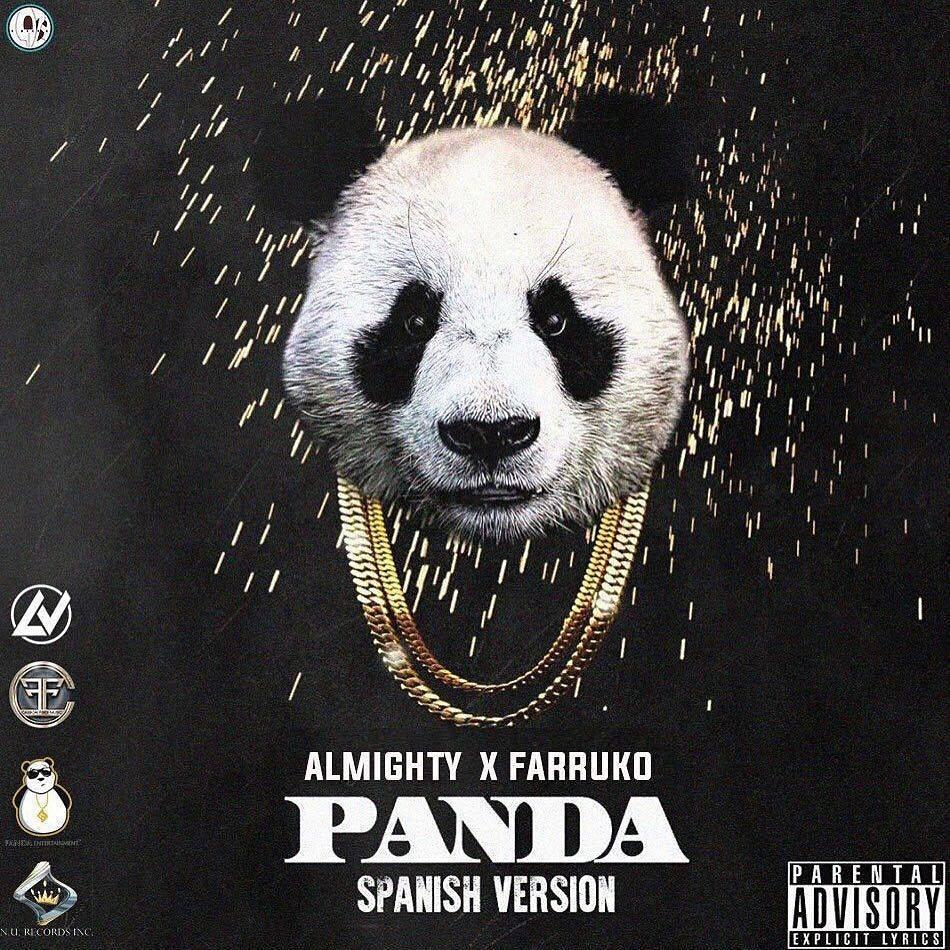 Hoyyyyyy @AlmightyCFM Ft @FarrukoPR - #Panda (Spanish Version) | @SharoTorres @NanditoNr https://t.co/JBRVx7wSjz