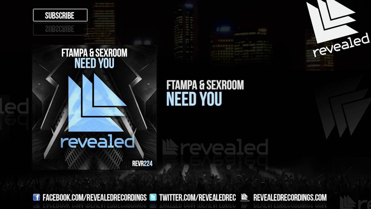 FTampa & Sexroom - Need You (Preview)  http:// dlvr.it/KNl43f      #edm<br>http://pic.twitter.com/0y6cSQSPYd