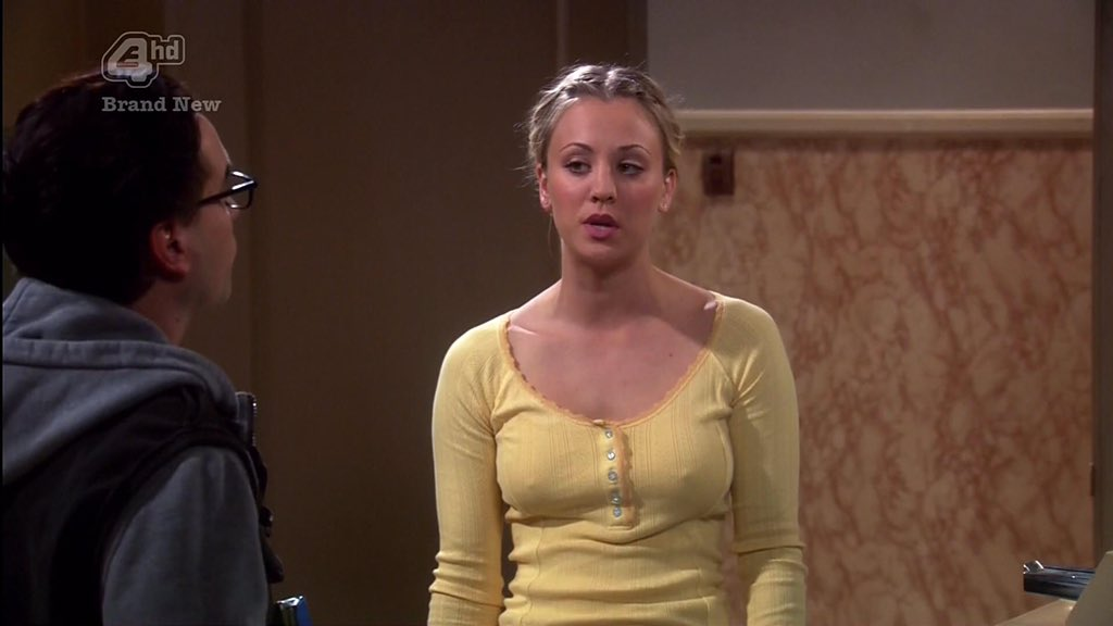 Daily Baes on Twitter: Kaley Cuoco - always braless