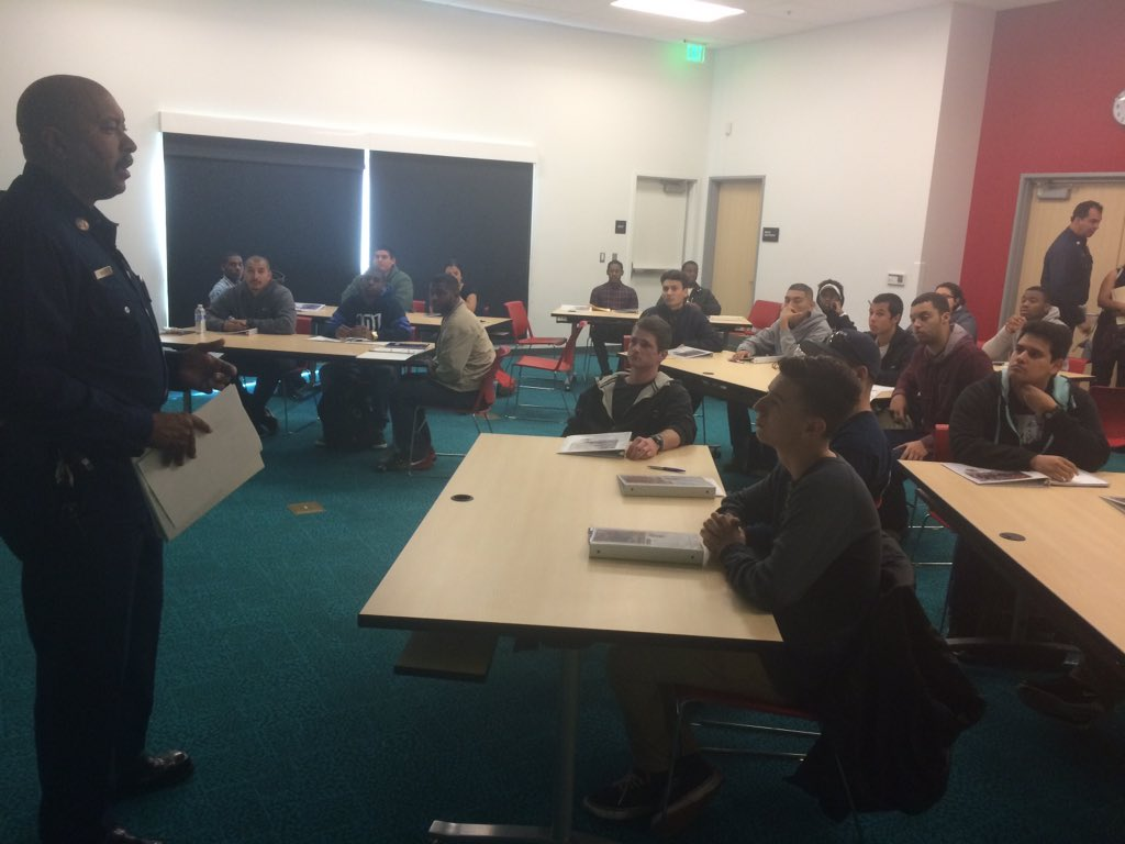 The first class of the #LACOFirePrep Program now underway! The best of luck to these young adults #Careers #LACounty