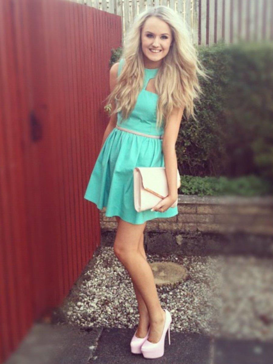 Teen Girl In Dress - Teen - Adult Videos-5024