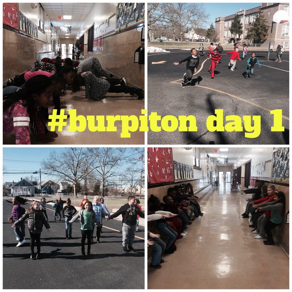 #burpiton day 1 complete! 5 min cardio, 25 jumping jacks, 1 min walk sit, 45 second plank @burp_it_on #rmbacon https://t.co/wMUQvu3VAC