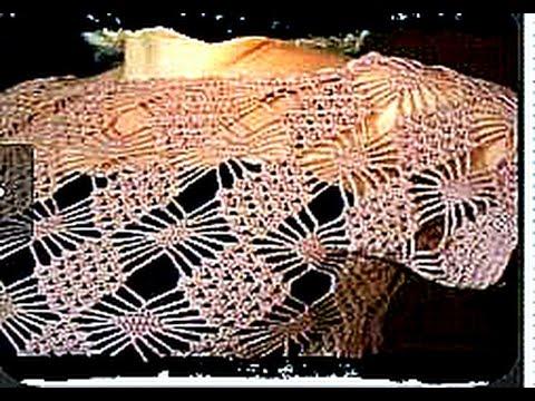 вязание крючком кофточка ажурная