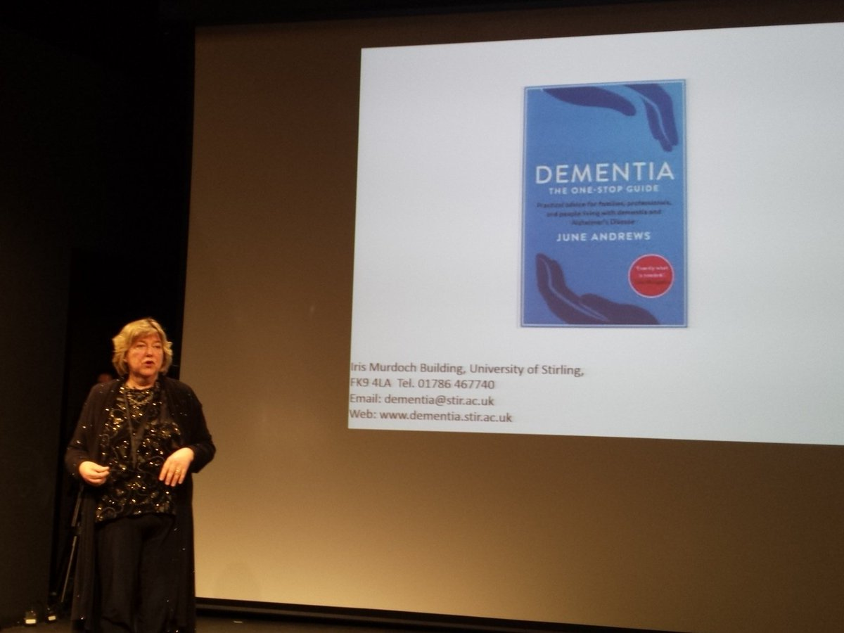 #stirscience Buy @ProfJuneAndrews book and £5 goes to the #dementia charity https://t.co/N9mH82t4hk