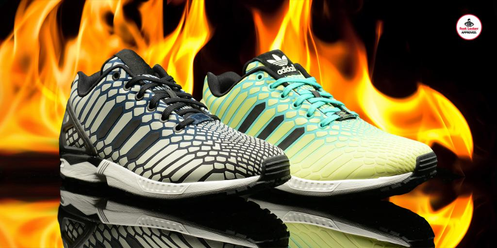 e7be2e9a29fa4  footlocker 3 years. a look at the adidasoriginals zx flux xeno borealis  available in stores hottestmonth