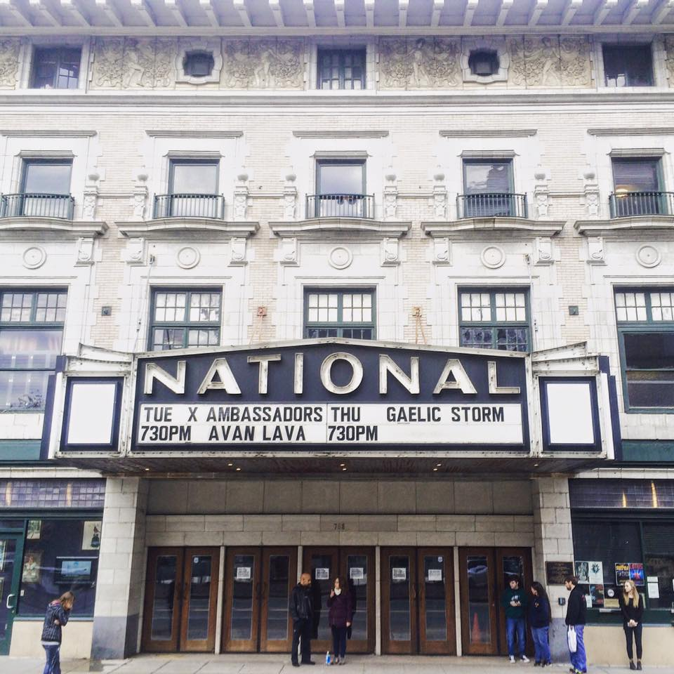 Tonight!!! w/ @XAmbassadors at @TheNationalRVA We go on at 7PM