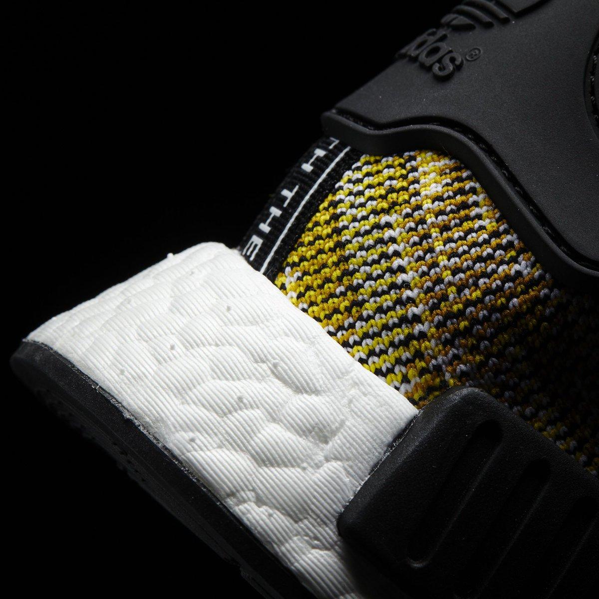 287253c85 Adidas NMD Runner Primeknit Core Black Nomad Yellow Releasing Saturday