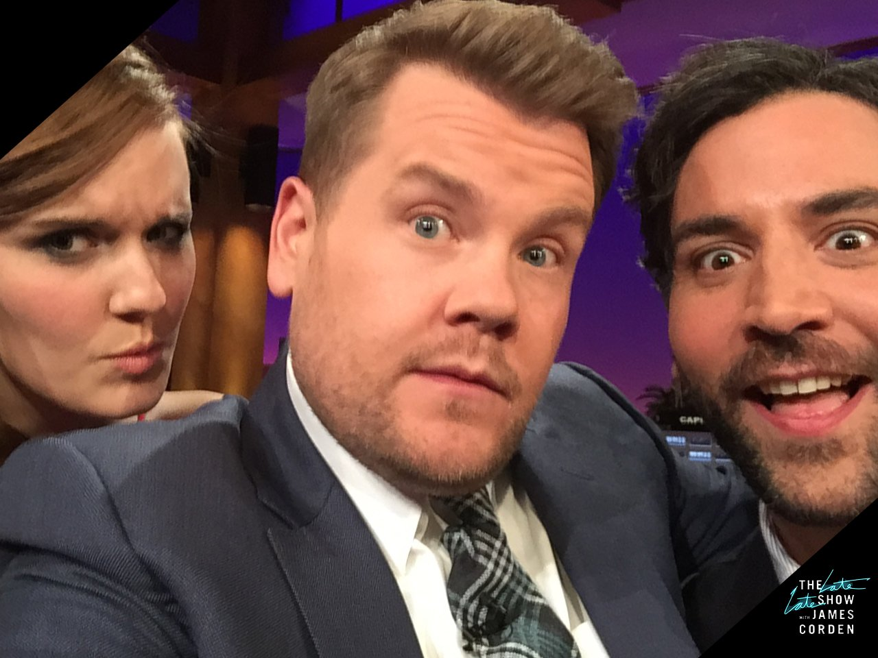 RT @latelateshow: In just a couple hours... Maggie Grace, @JoshRadnor, music from @NathanSykes and #CarpoolKaraoke with Chris Martin! https…