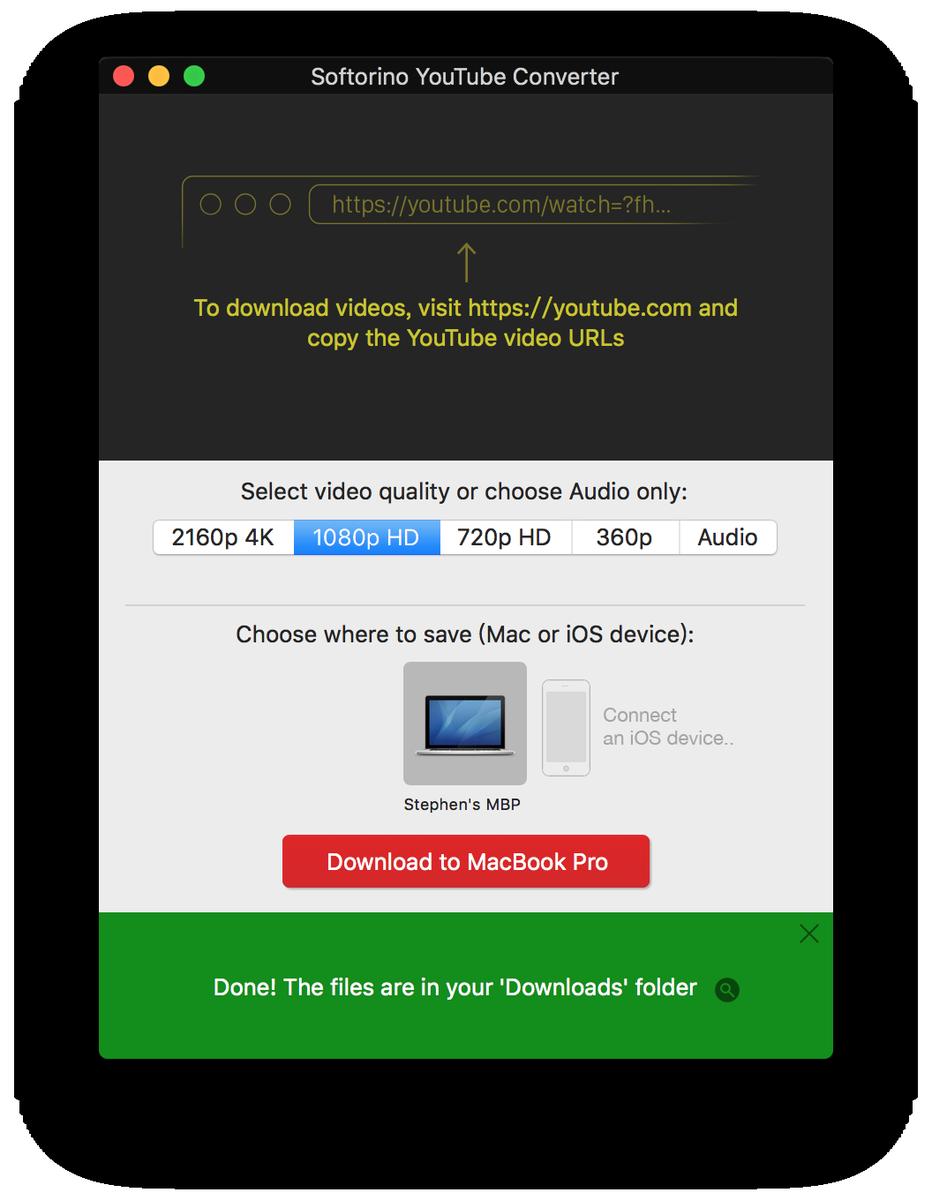 Softorino YouTube Converter真好用,拿來下載YouTube影片速度也超快! https://t.co/lSN3SF4IyS