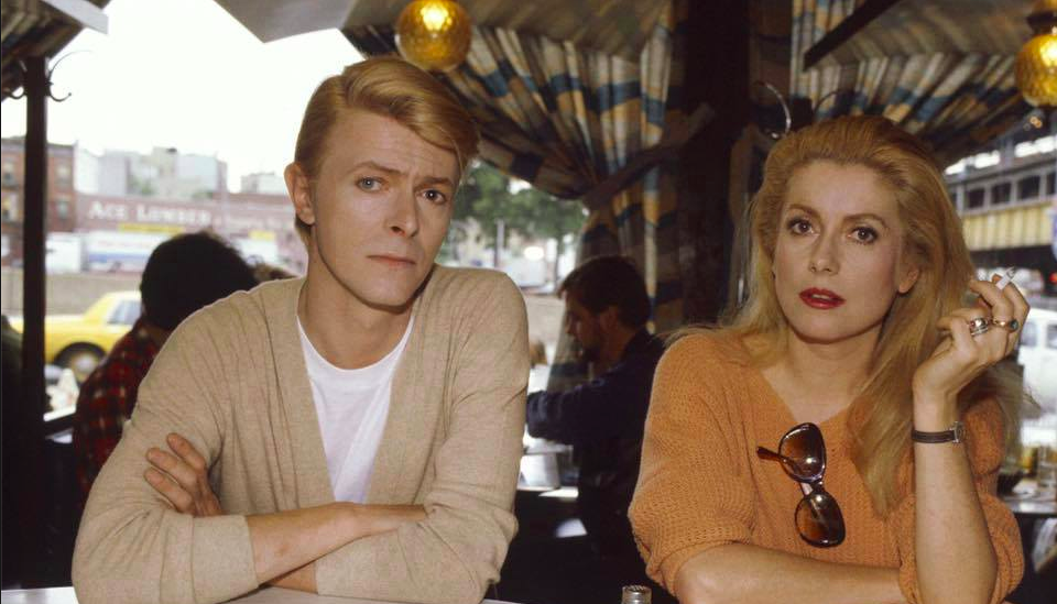 I think we should all take a moment to appreciate Bowie and Deneuve in the world's most perfect photo: https://t.co/bUd8EboJDc