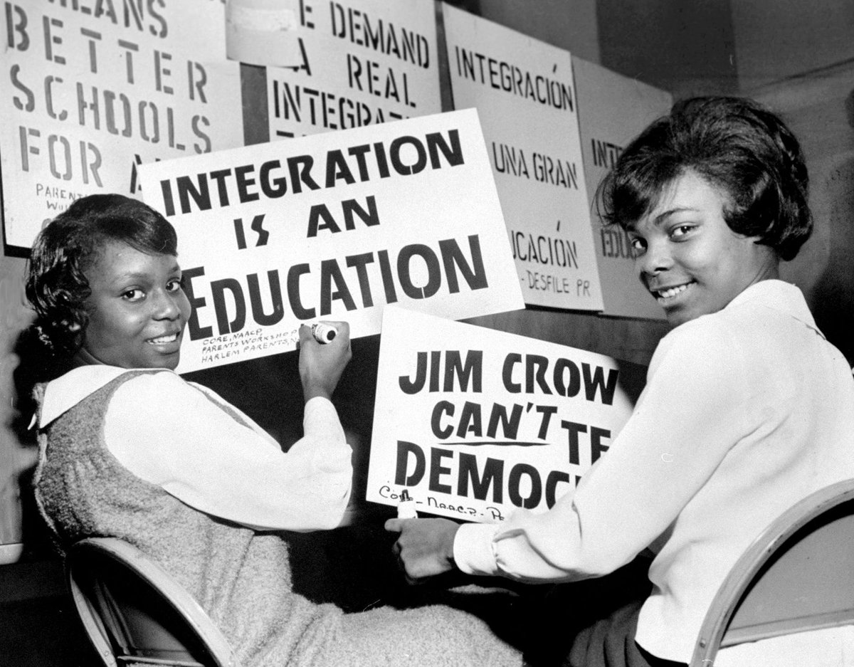 Demand for School Integration Leads to Massive 1964 Boycott — In New York City  via @WNYC https://t.co/PzgTssdbbH https://t.co/wkbc26FZUs