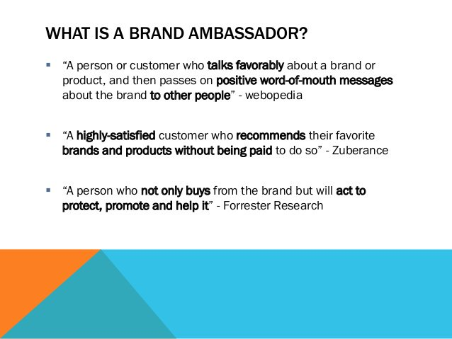 A1. Brand Ambassador Promote #Brand and Stick to its Vision #sourcingchat https://t.co/HwOvQdz8JU