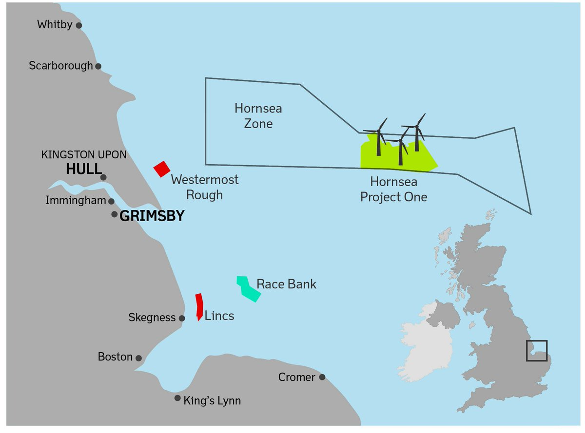 Worlds largest windfarm to go ahead thanks to @DONGEnergy & @DECCgovuk https://t.co/tCNEx3kK6c #northernpowerhouse https://t.co/spuGSAiIc8