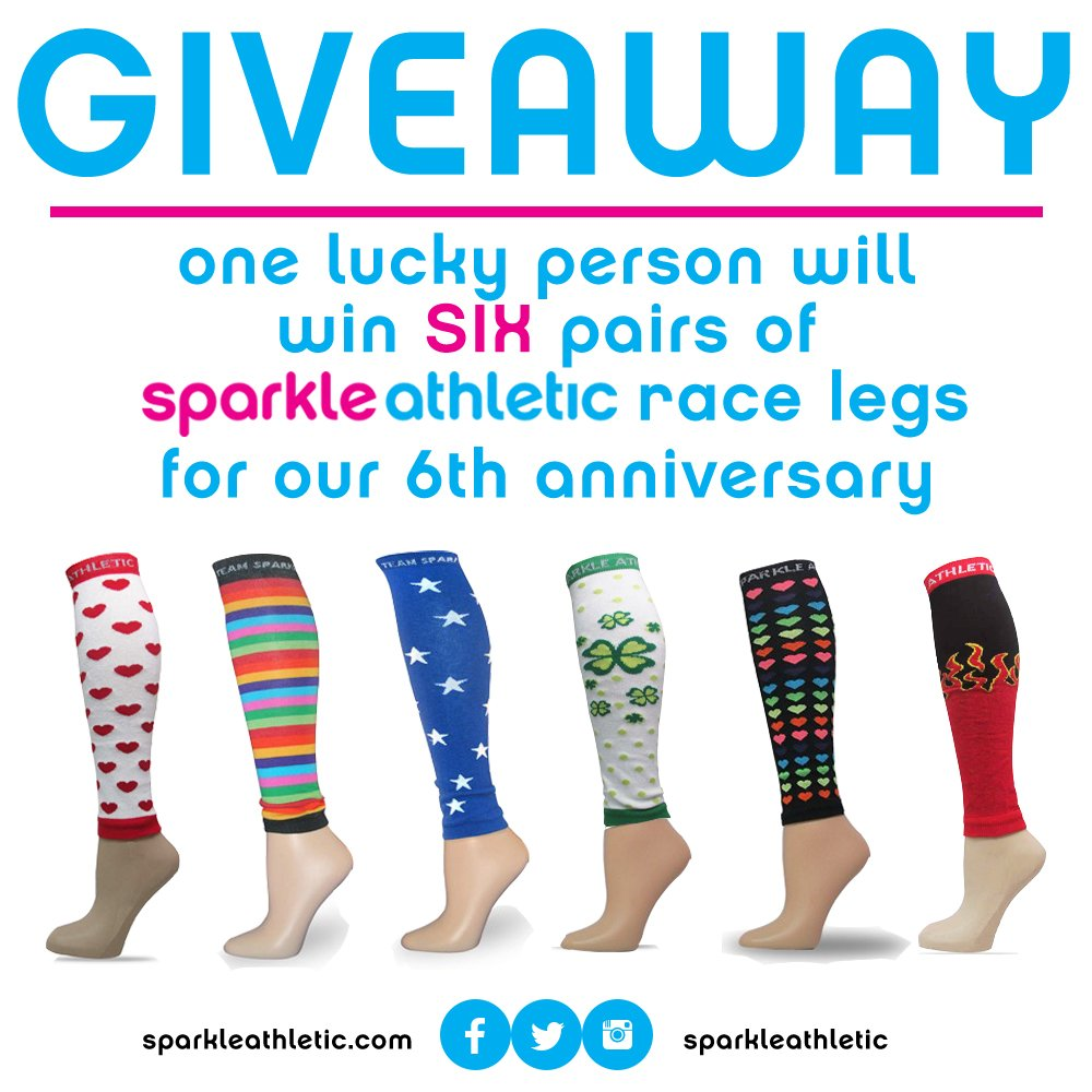 Win SIX pairs of Race Legs for our 6th Anniversary. Details on FB. RT to WIN! https://t.co/ZVKykWzHaS https://t.co/UbVoyB4qWp