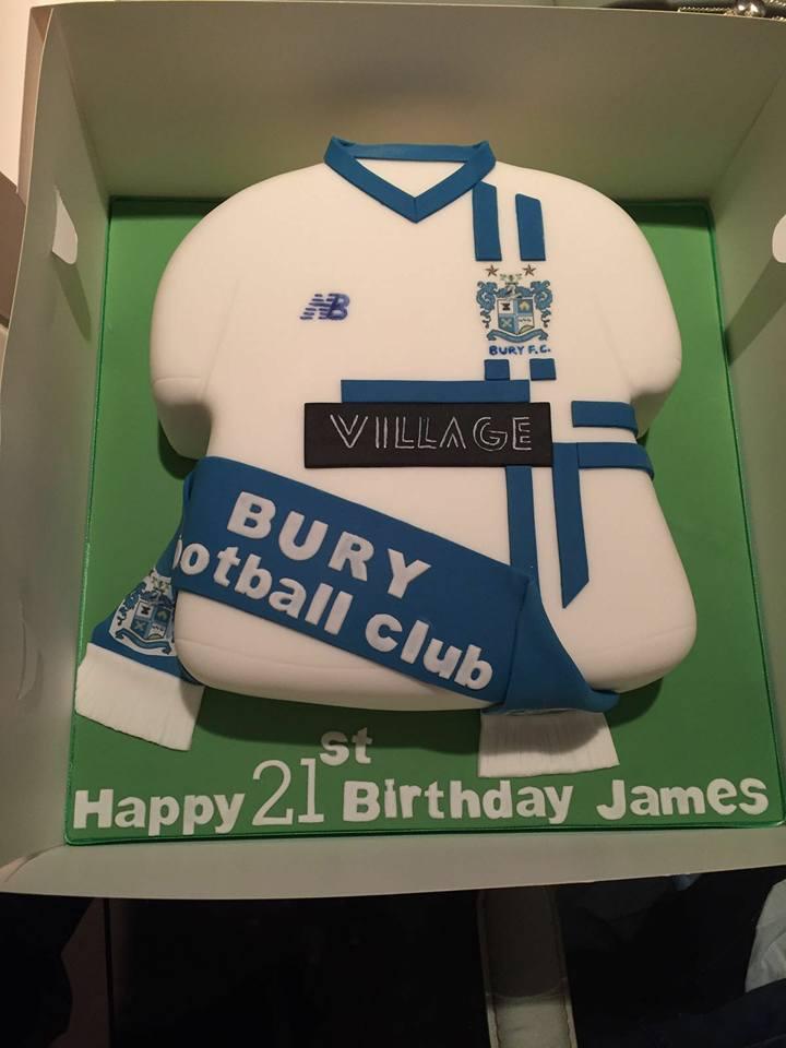 Bury Football Club On Twitter Fans Bury Fan James Moscrops