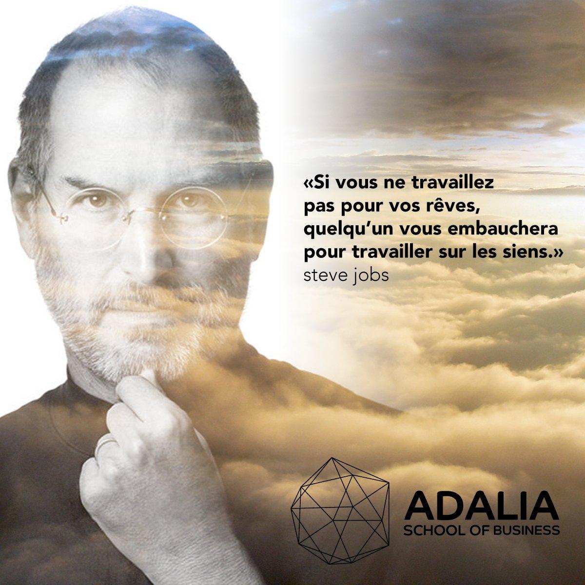 si vous ne travaillez pas pour vos rêves quelqu'un vous embauchera pour travailler pour les siens