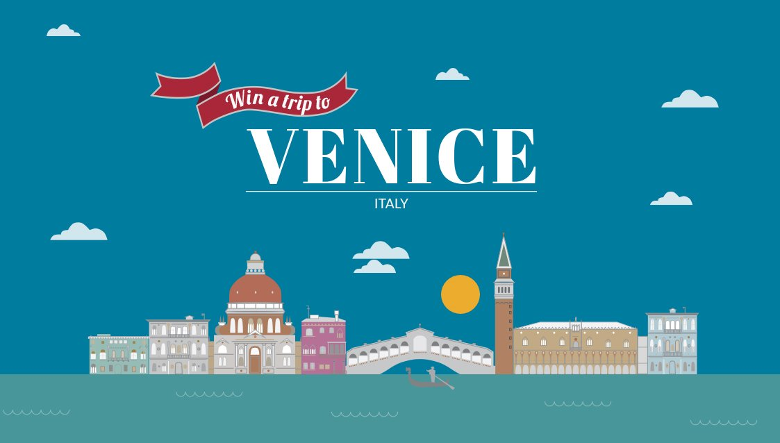 It's competition time! How would you like to win a trip to Venice!? (USA & Canada) - https://t.co/EXs2LTJQEm #Win
