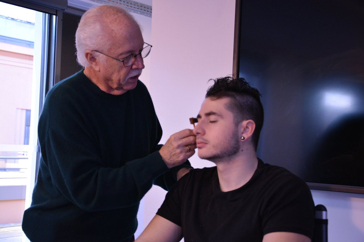 So Lucky to have #LeonardEngelman with during a week as #cinema #makeupmaster at the #tvcinemaacademy https://t.co/1GVnmepkQv