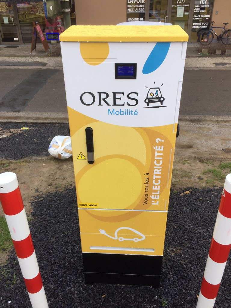 Charging Station 32A3P @_ORES_ #LaHulpe is now Live ! Carrefour Market http://api.plugshare.com/view/location/79487 … #Plugshare #EV #ORESpic.twitter.com/KzReQalhkr