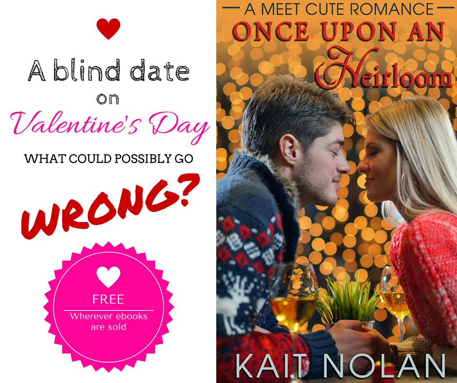 A BLIND DATE on Valentine's Day.  What could possibly go WRONG? #FREE #ebook #romance  https://t.co/NXd2xPIXvi https://t.co/CHJCqqYpQN