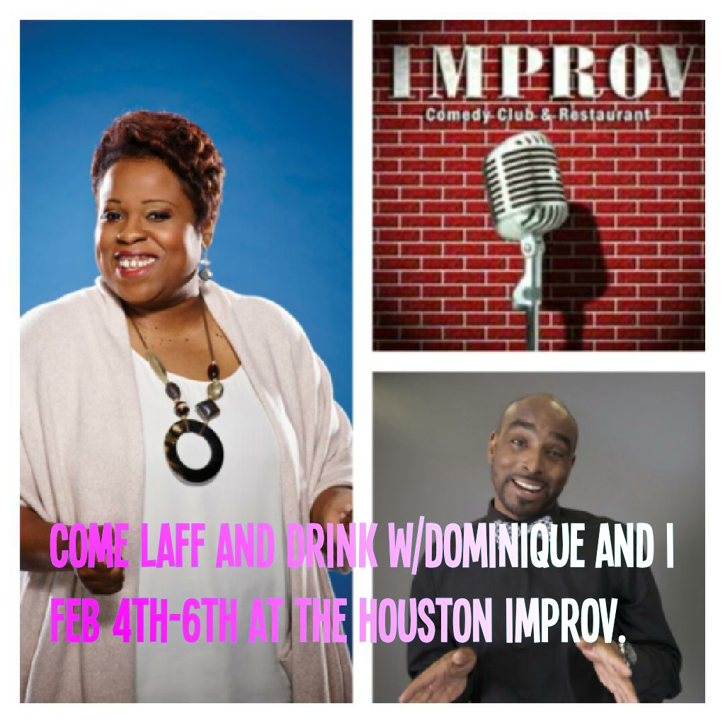 ur team ain't in the #SuperBowl come laff nd drink about it w/ .@DominiqueComedi .@ImprovHouston  #htown Feb 4th-6th https://t.co/7RPn7QimGD