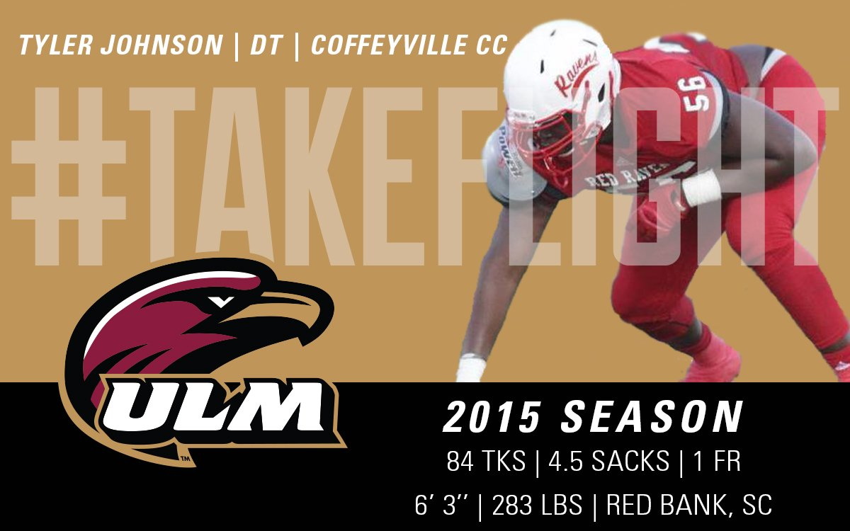 Ulm Football On Twitter Tyler Johnson T Johnson56 Has Signed And He Is Ready To Takeflight Highlight Https T Co Tn6qgjyf2c Https T Co Zfu1ocgfr4