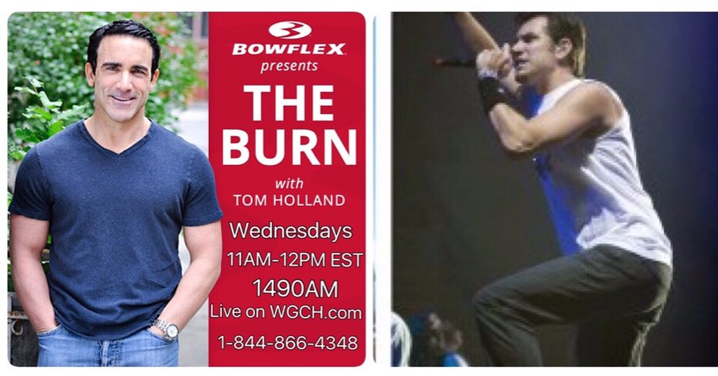 Listen to @NickHexum live today on The Burn: He'll tell us why he's running up the Empire State Building tonight. https://t.co/NjccPUAcyX