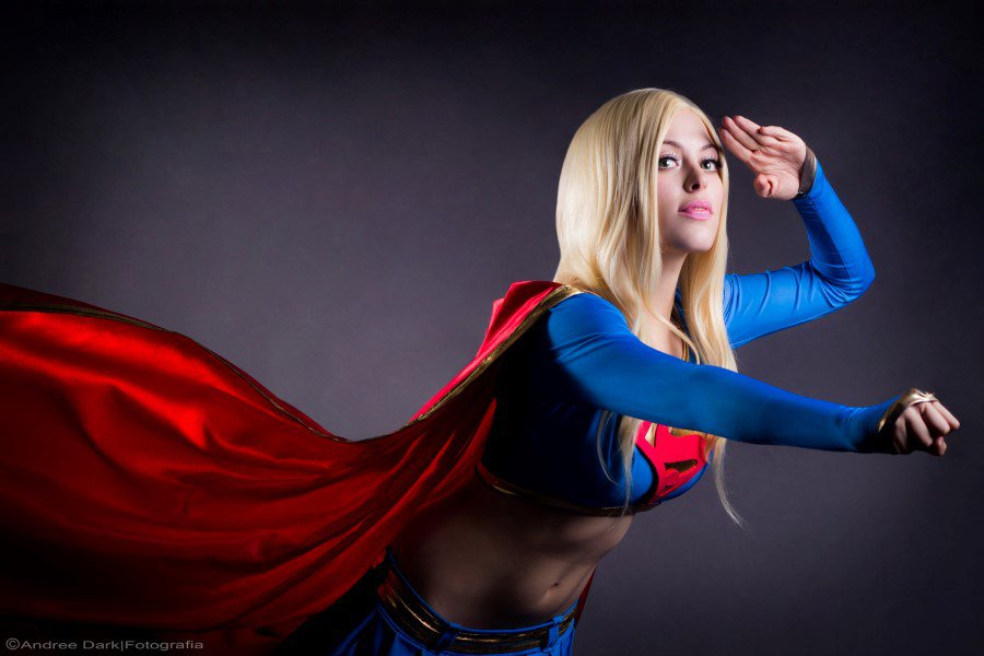 Cosplay Supergirl By Jerikandra Babe Source 1