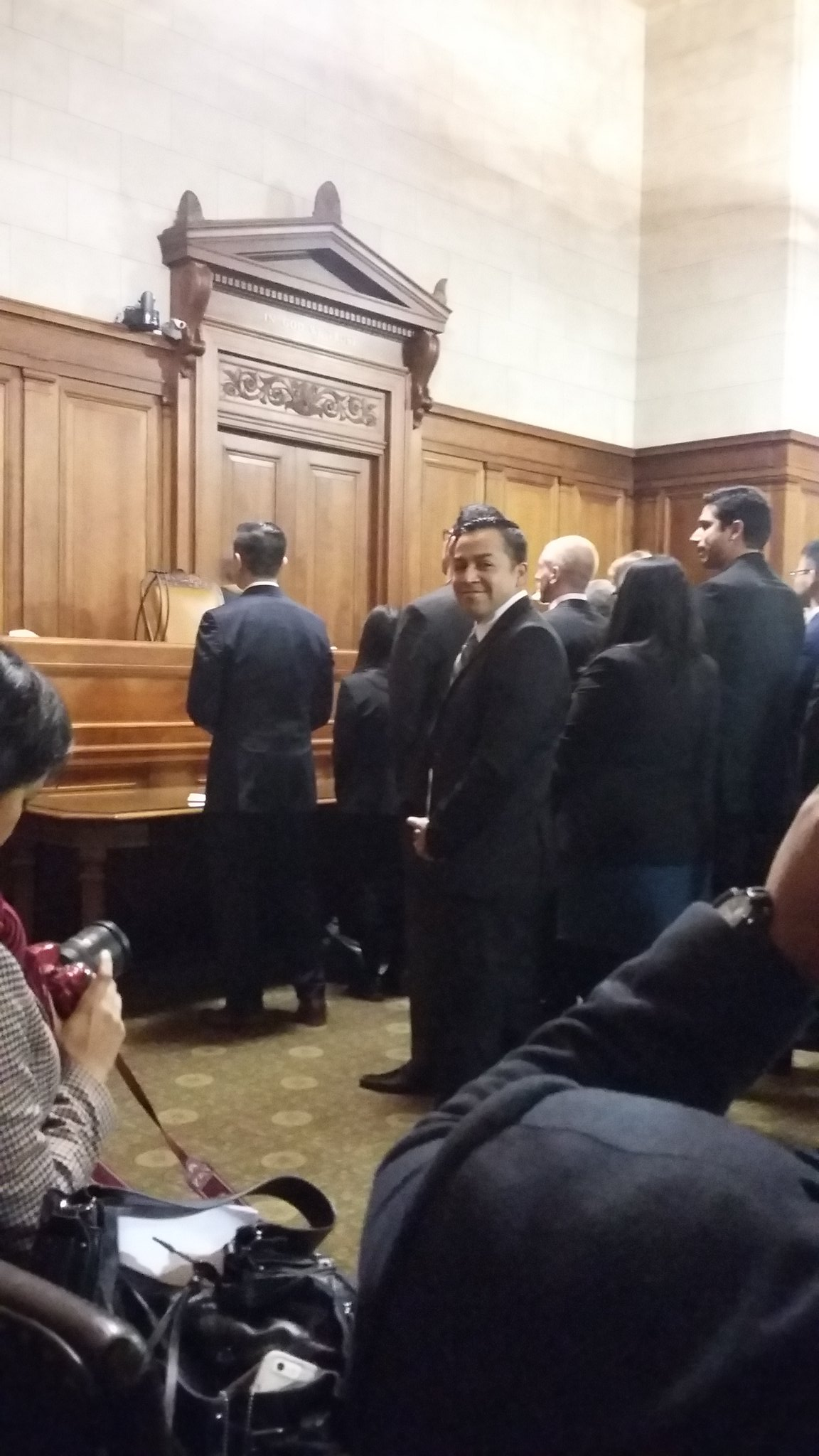 RT @ErikaAndiola: @DREAMerJ_D, Bernie's Latino Outreach Strategist about to be sworn-in as the first Dreamer lawyer in NY! https://t.co/9eR…