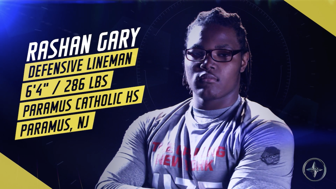 No. 1 recruit Rashan Gary announces he'll sign with Michigan https://t.co/ltXFyMAk7o https://t.co/oIUzaVk5SB