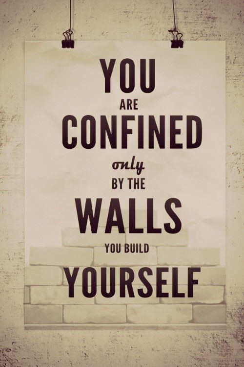 Break those walls down! Reach your goals! #truth #bestrong #bebrave #motivation https://t.co/dMhoiONRRD