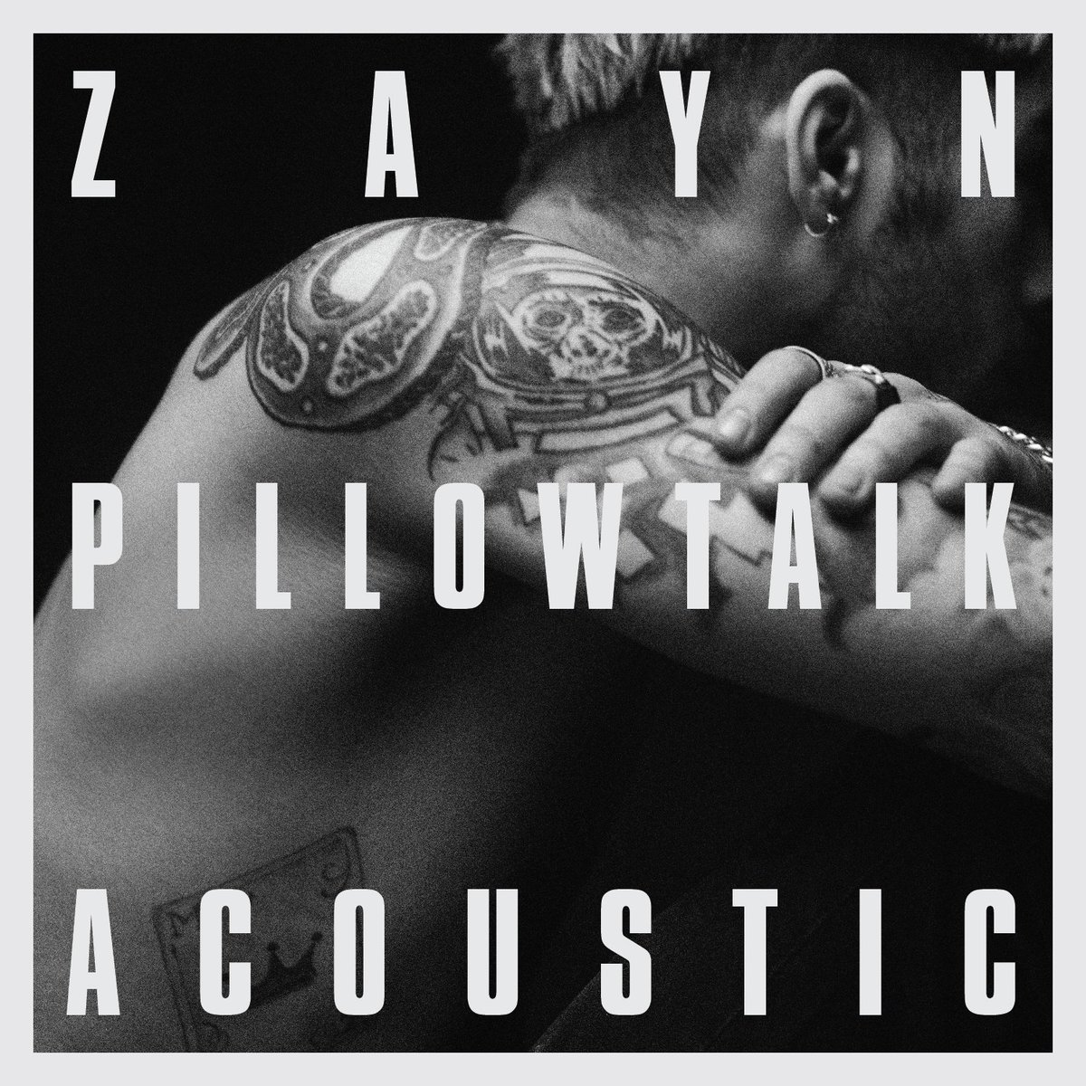 "Zayn Malik lança versão acústica para ""PILLOWTALK"""